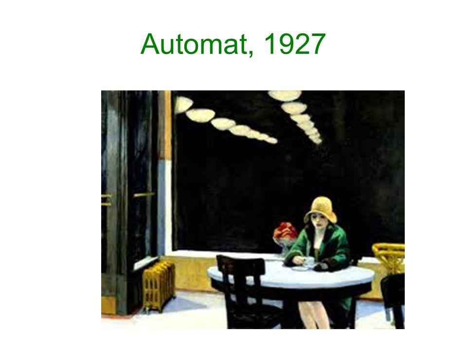 Automat, 1927