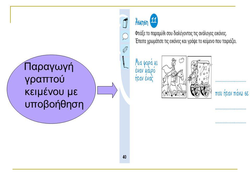 Παραγωγή γραπτού κειμένου με υποβοήθηση