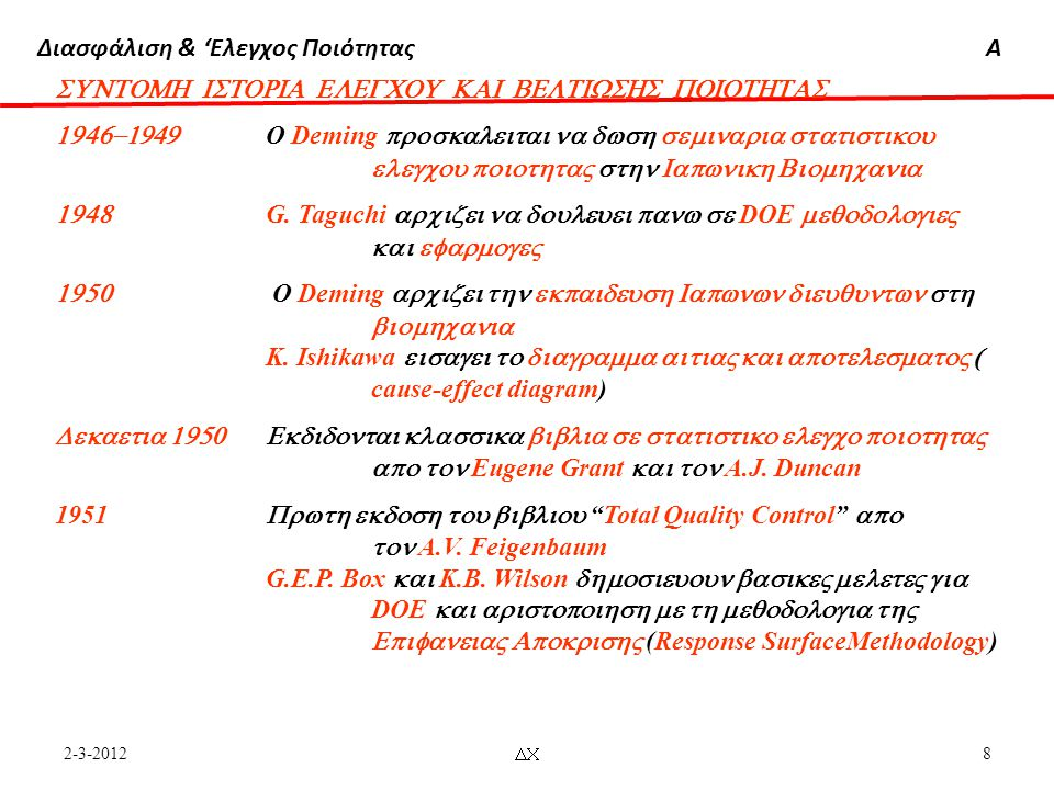 SUNTOMH ISTORIA ELEGCOU KAI BELTIWSHS POIOTHTAS