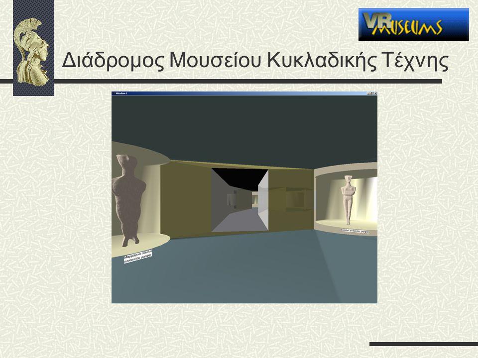 Διάδρομος Μουσείου Κυκλαδικής Τέχνης