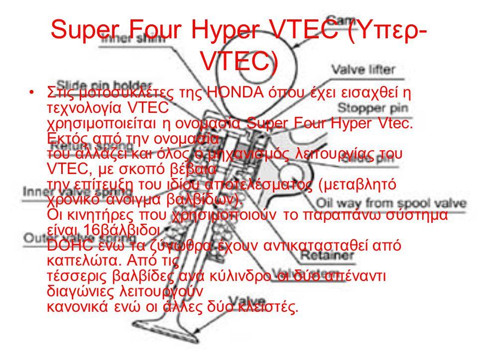 Super Four Hyper VTEC (Υπερ-VTEC)