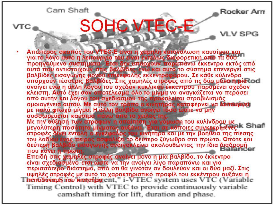SOHC VTEC-E