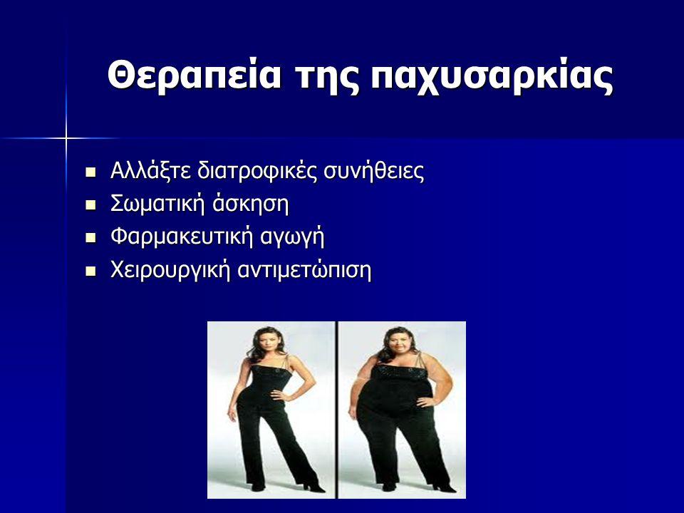 Θεραπεία της παχυσαρκίας