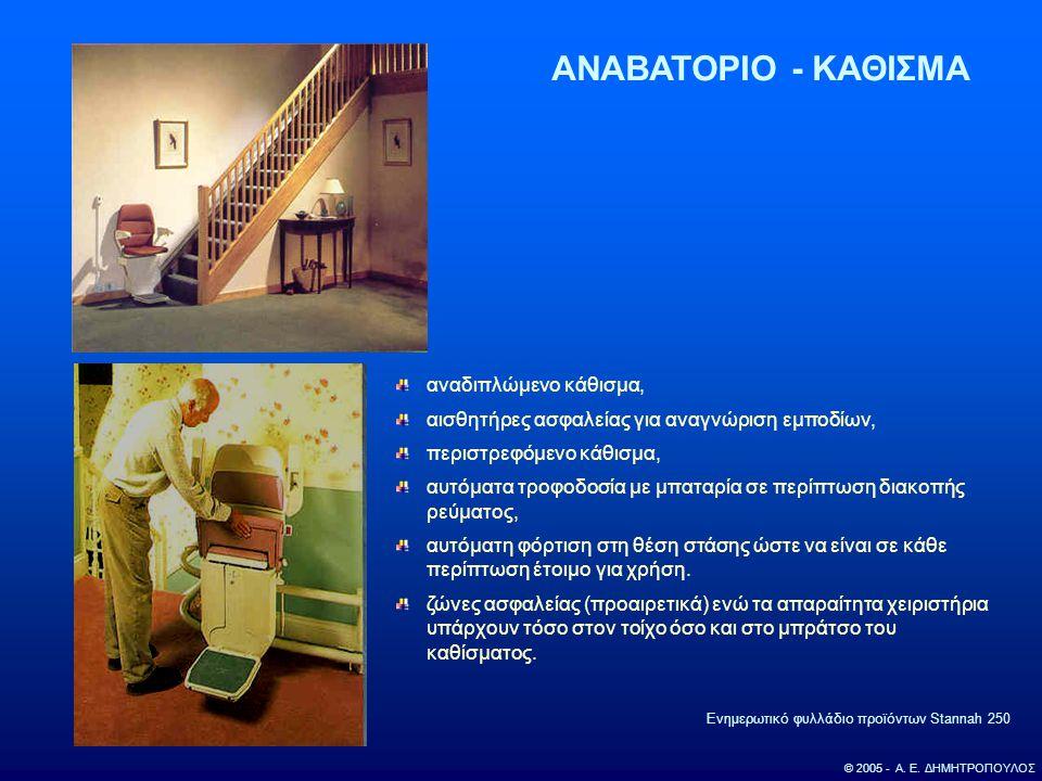 ΑΝΑΒΑΤΟΡΙΟ - ΚΑΘΙΣΜΑ αναδιπλώμενο κάθισμα,