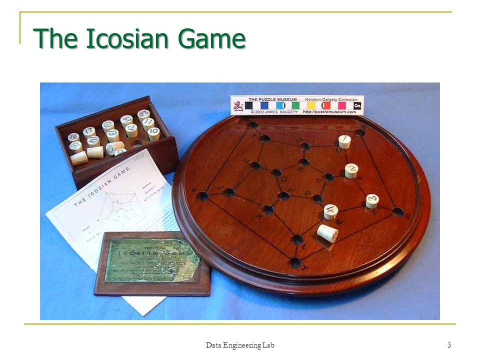 The Icosian Game Data Engineering Lab