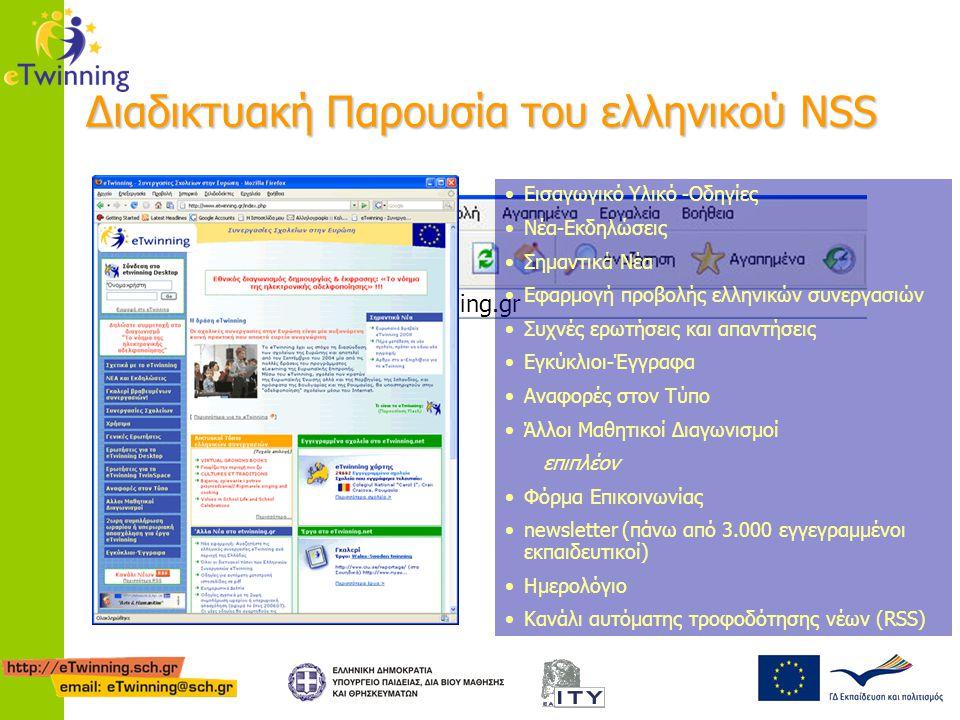 Διαδικτυακή Παρουσία του ελληνικού NSS