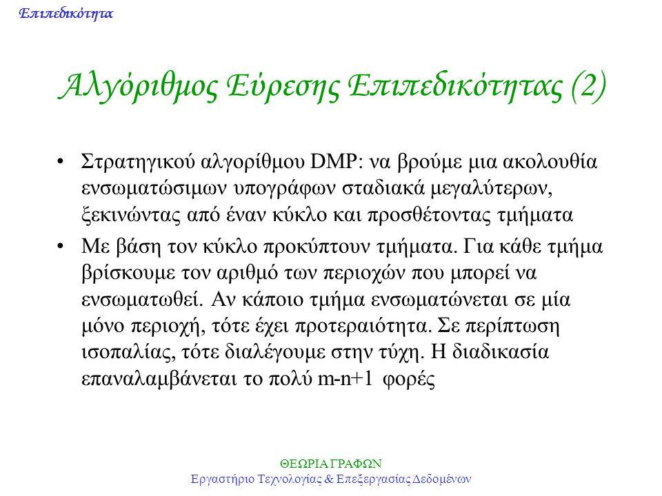 Αλγόριθμος Εύρεσης Επιπεδικότητας (2)