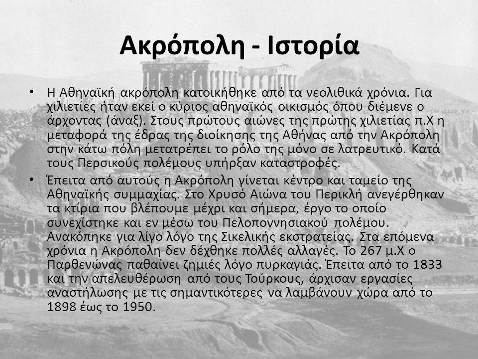 Ακρόπολη - Ιστορία