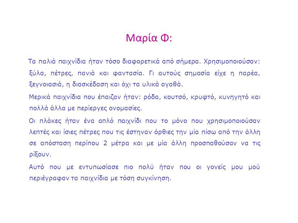 Μαρία Φ: