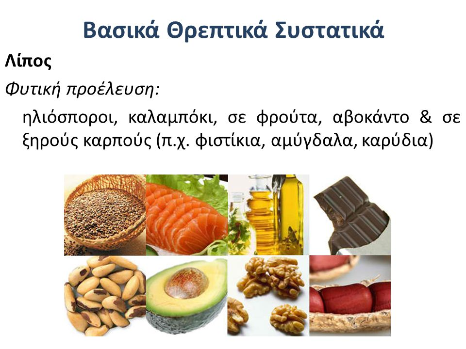 Βασικά Θρεπτικά Συστατικά