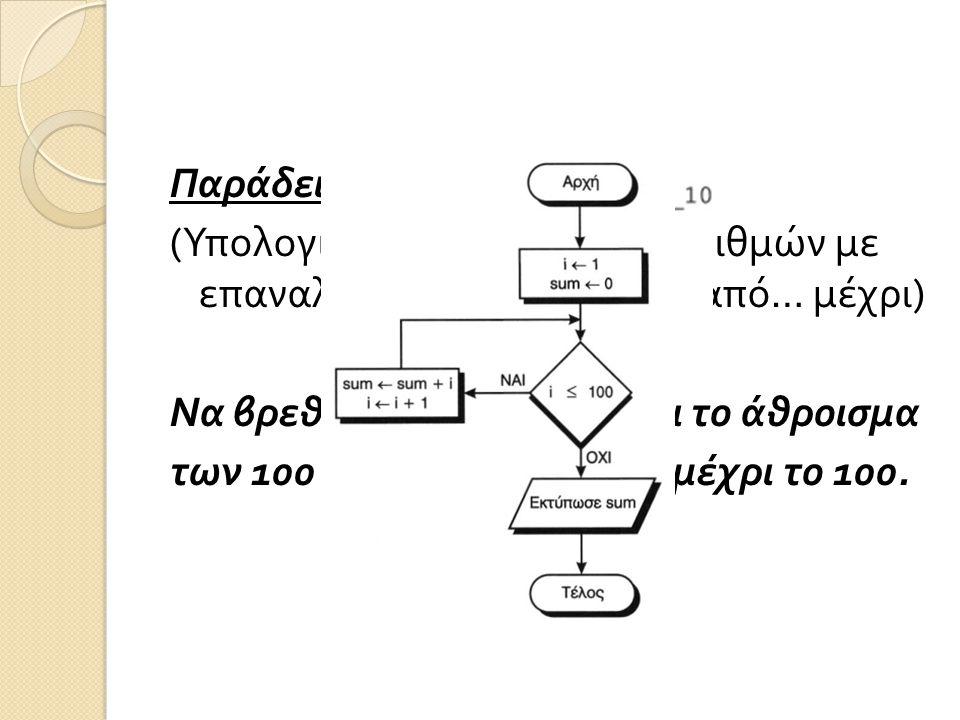 Παράδειγμα 10.