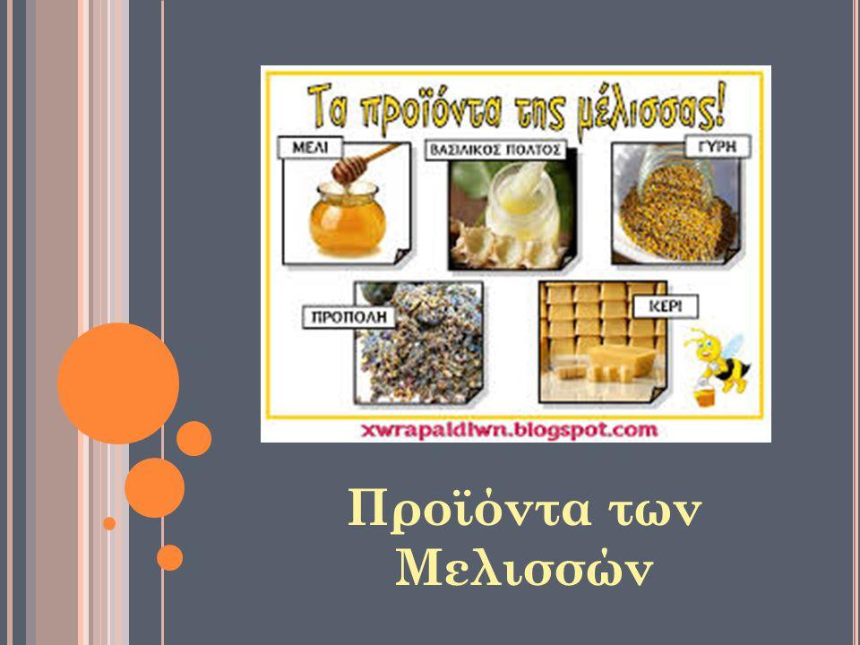 Προϊόντα των Μελισσών