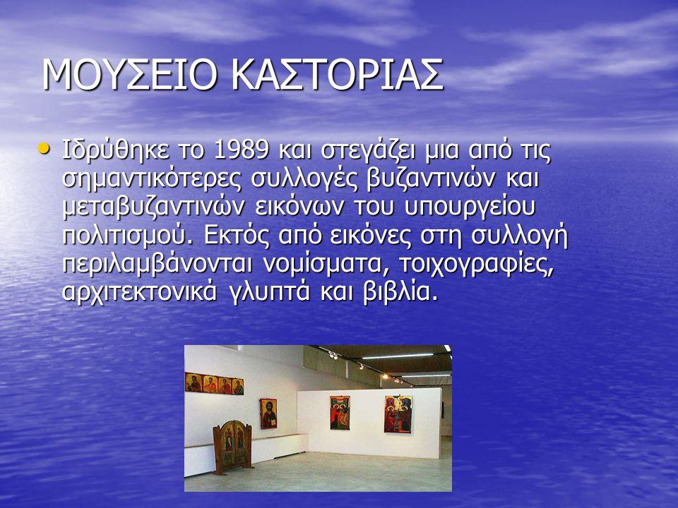 ΜΟΥΣΕΙΟ ΚΑΣΤΟΡΙΑΣ