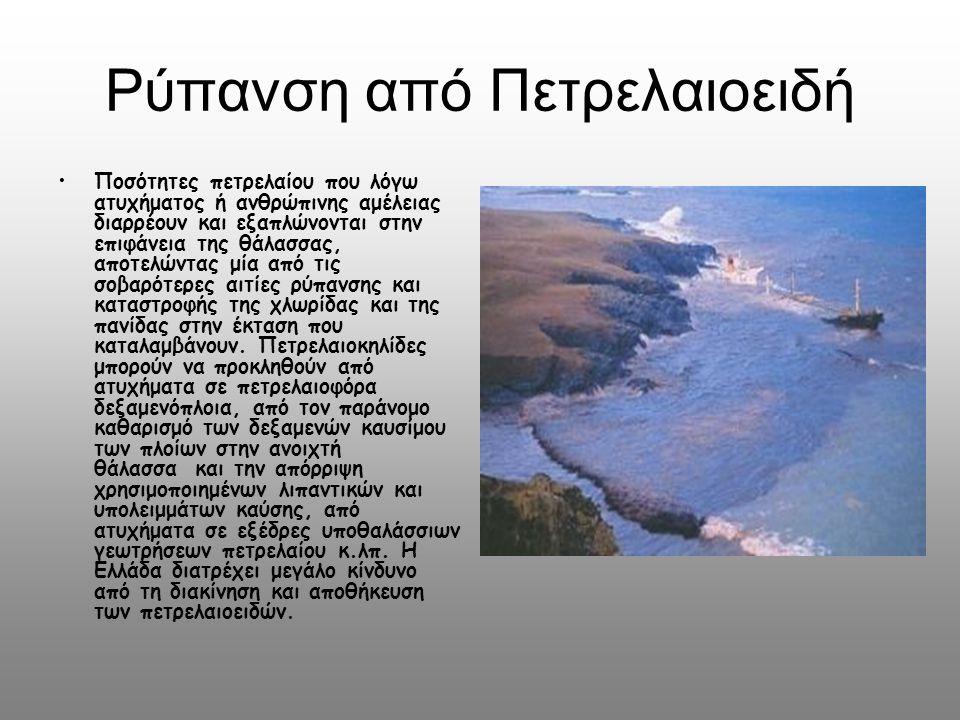 Ρύπανση από Πετρελαιοειδή