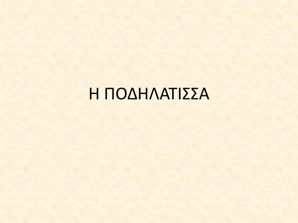 Η ΠΟΔΗΛΑΤΙΣΣΑ
