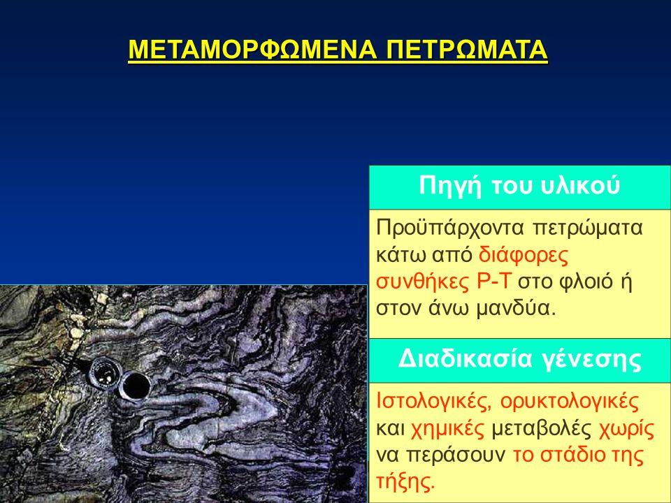 ΜΕΤΑΜΟΡΦΩΜΕΝΑ ΠΕΤΡΩΜΑΤΑ