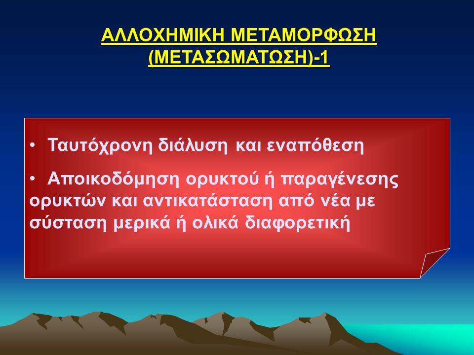 ΑΛΛΟΧΗΜΙΚΗ ΜΕΤΑΜΟΡΦΩΣΗ (ΜΕΤΑΣΩΜΑΤΩΣΗ)-1