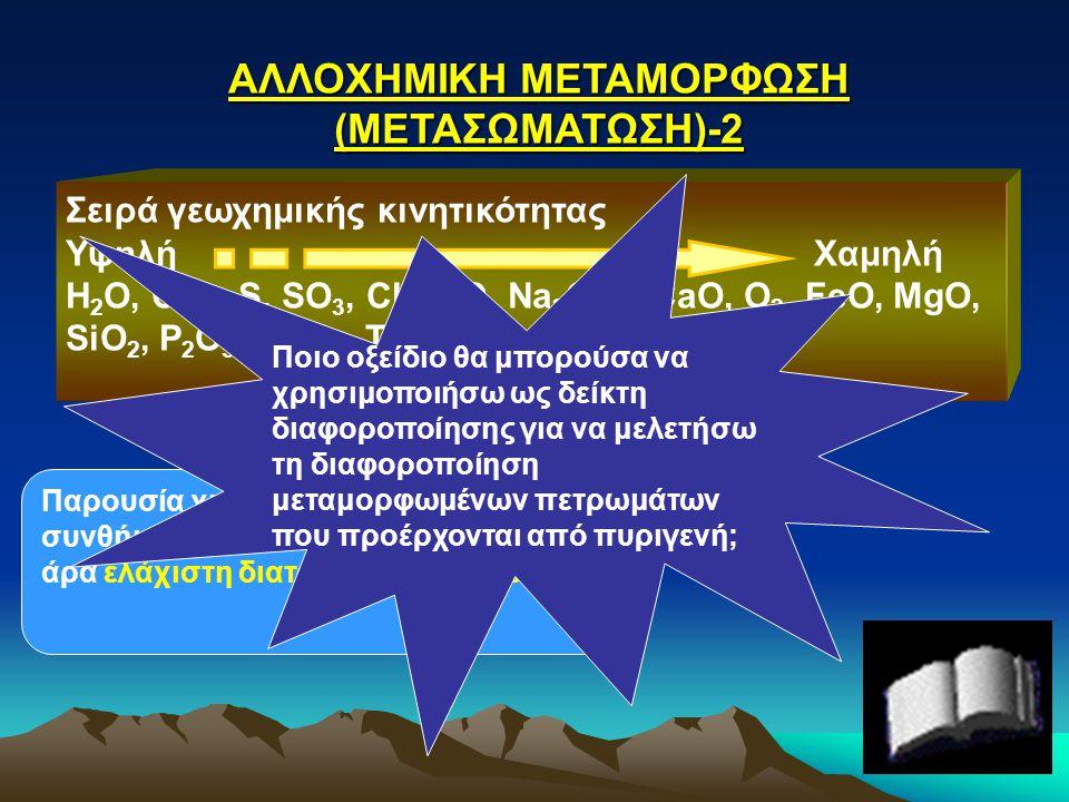 ΑΛΛΟΧΗΜΙΚΗ ΜΕΤΑΜΟΡΦΩΣΗ (ΜΕΤΑΣΩΜΑΤΩΣΗ)-2