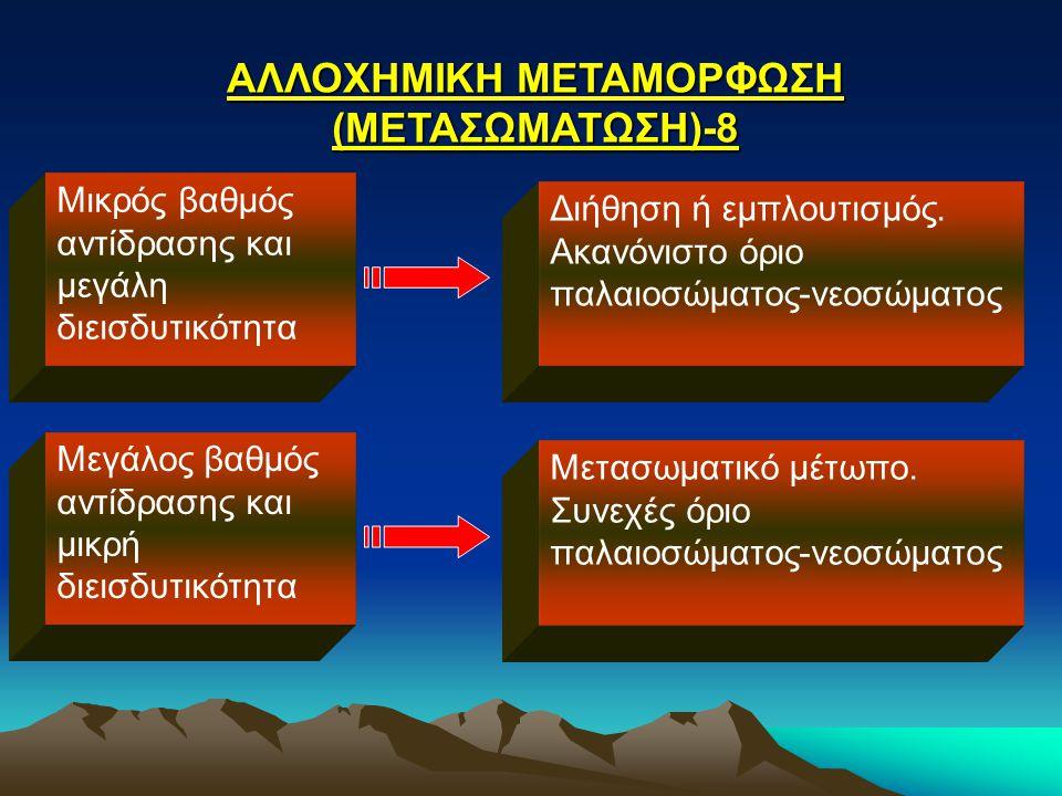 ΑΛΛΟΧΗΜΙΚΗ ΜΕΤΑΜΟΡΦΩΣΗ (ΜΕΤΑΣΩΜΑΤΩΣΗ)-8