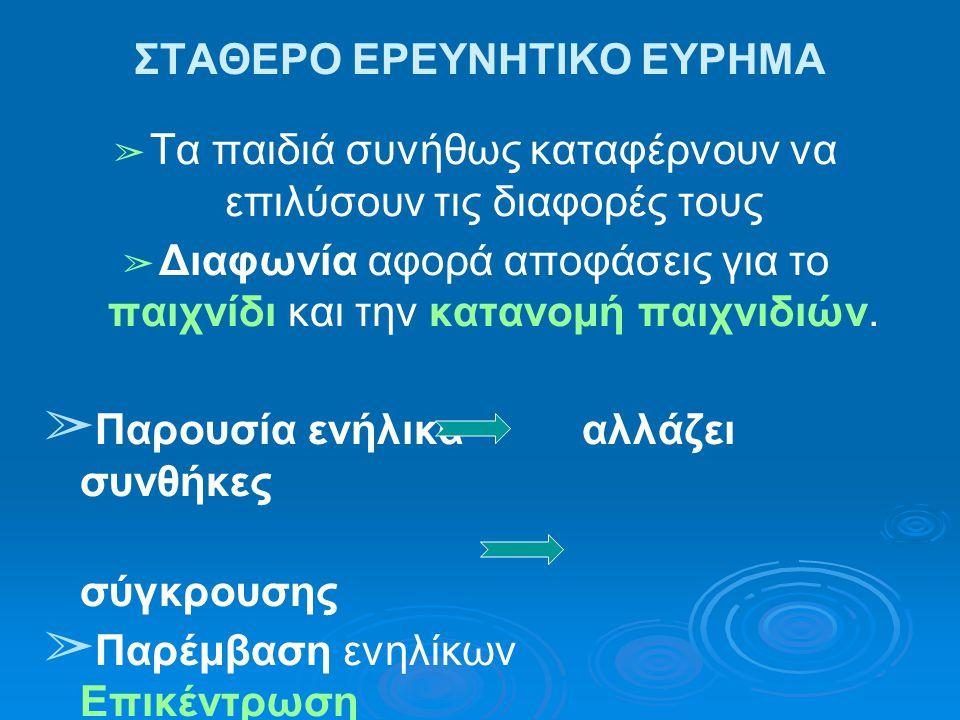 ΣΤΑΘΕΡΟ ΕΡΕΥΝΗΤΙΚΟ ΕΥΡΗΜΑ