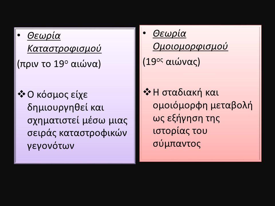 Θεωρία Ομοιομορφισμού