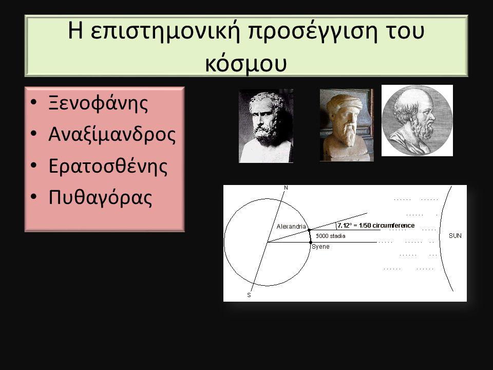 Η επιστημονική προσέγγιση του κόσμου