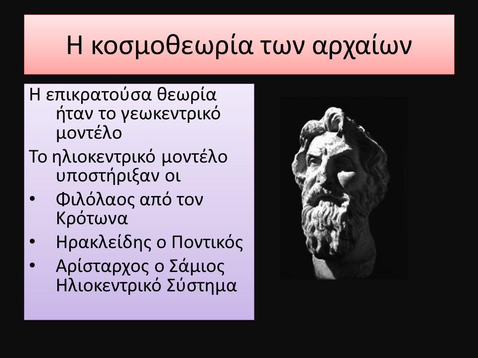Η κοσμοθεωρία των αρχαίων