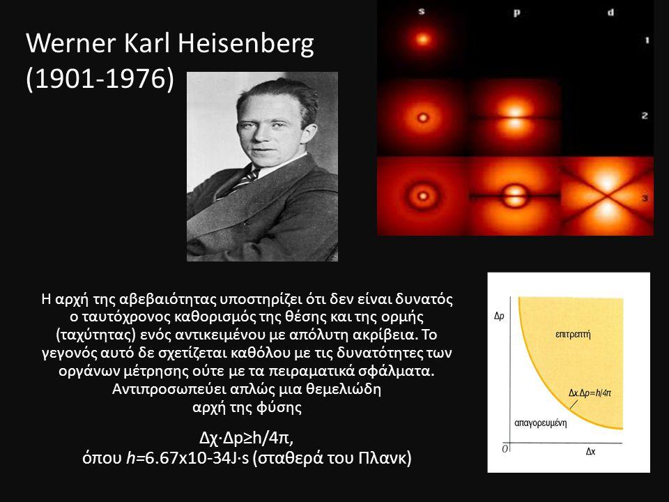 Werner Κarl Heisenberg (1901-1976)