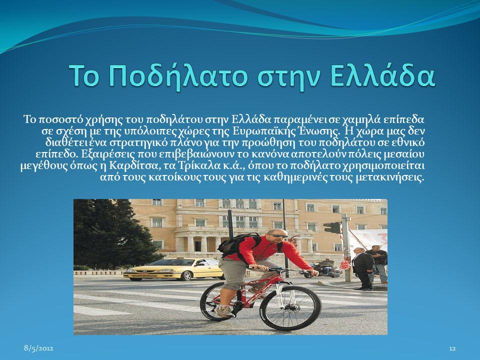 Το Ποδήλατο στην Ελλάδα