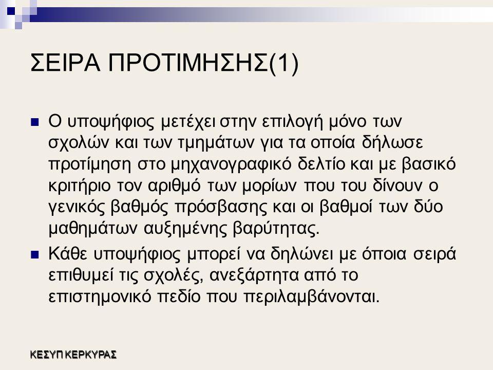 ΣΕΙΡΑ ΠΡΟΤΙΜΗΣΗΣ(1)