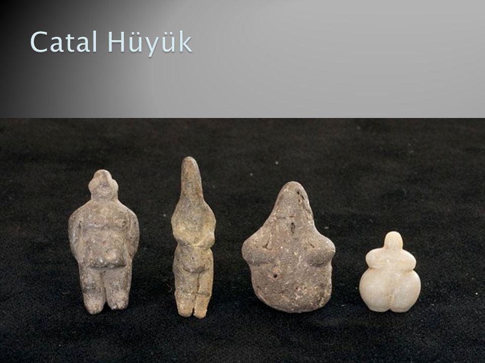 Catal Hüyük Οι φιγούρες είναι παιχνίδια και όχι μητέρες θεές. 7000 π.Χ.