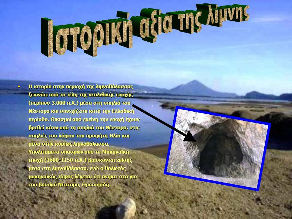 Ιστορική αξία της λίμνης