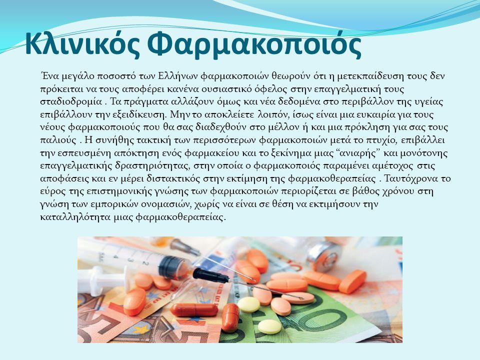 Κλινικός Φαρμακοποιός