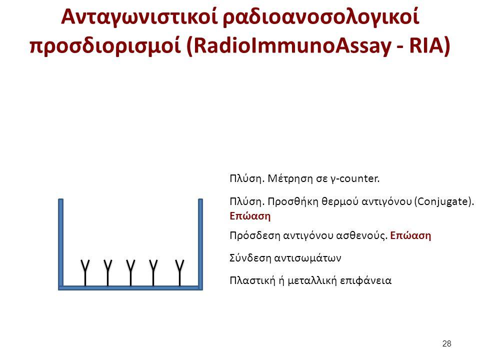 Μη ανταγωνιστικοί ανοσοραδιομετρικοί προσδιορισμοί (ImmunoRadioMetric Assays - IRMA)
