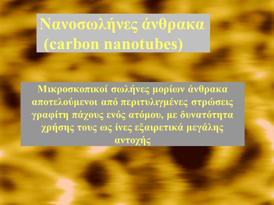 Νανοσωλήνες άνθρακα (carbon nanotubes)