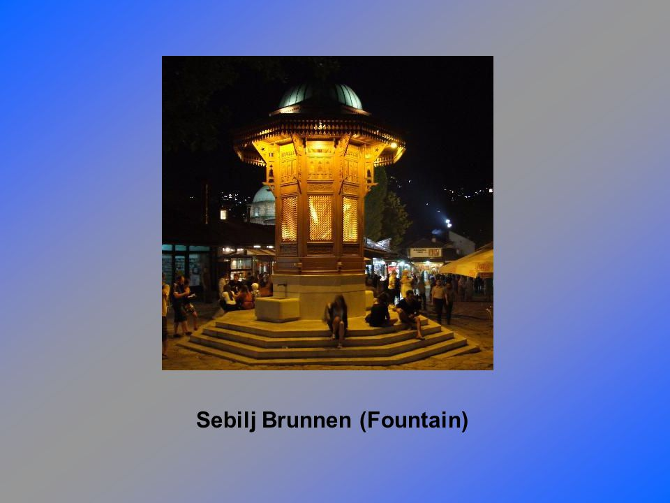Sebilj Brunnen (Fountain)