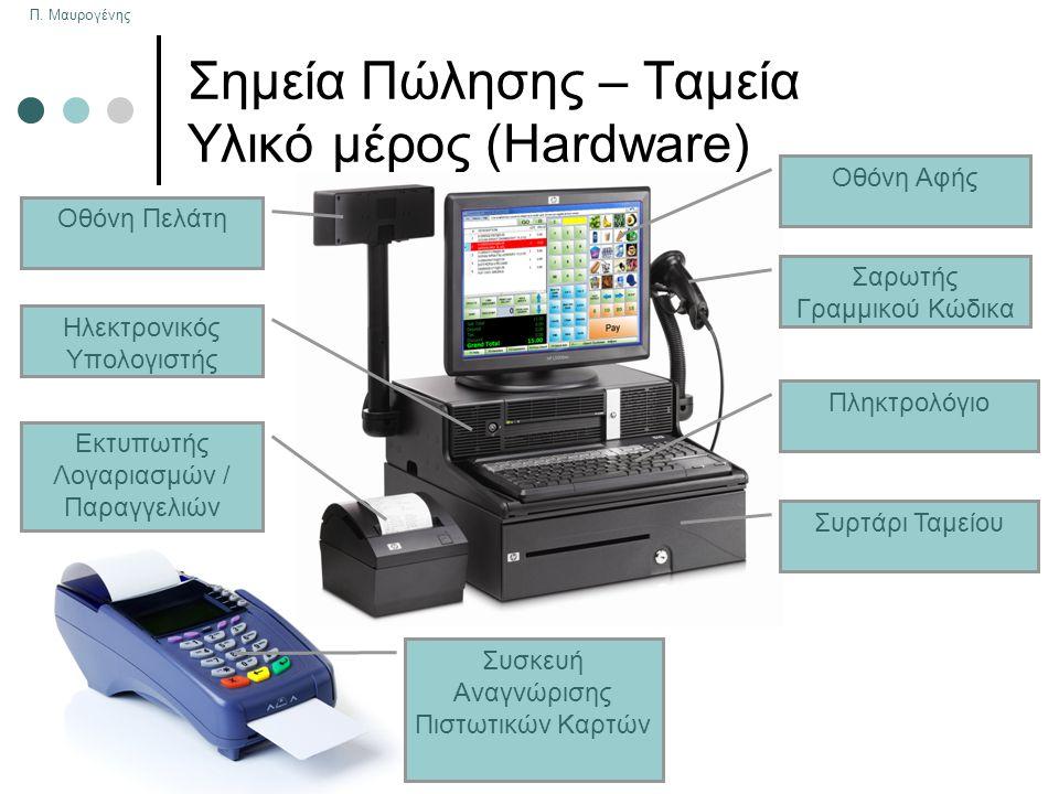Σημεία Πώλησης – Ταμεία Υλικό μέρος (Hardware)