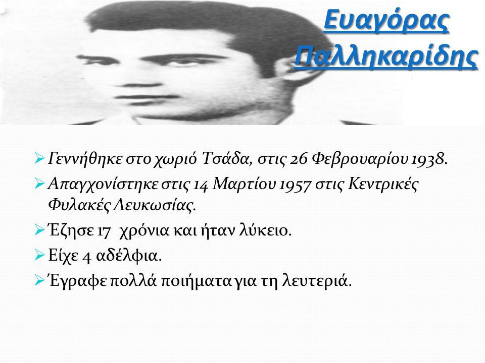 Ευαγόρας Παλληκαρίδης