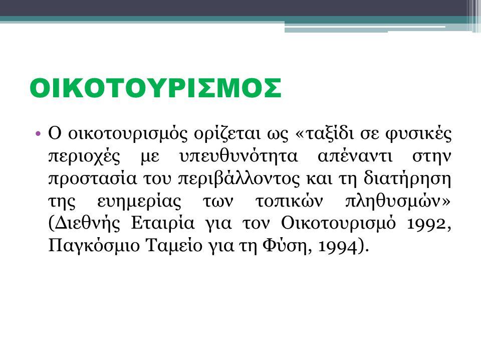 ΟΙΚΟΤΟΥΡΙΣΜΟΣ