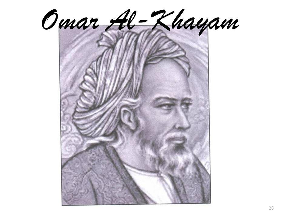 Omar Al-Khayam