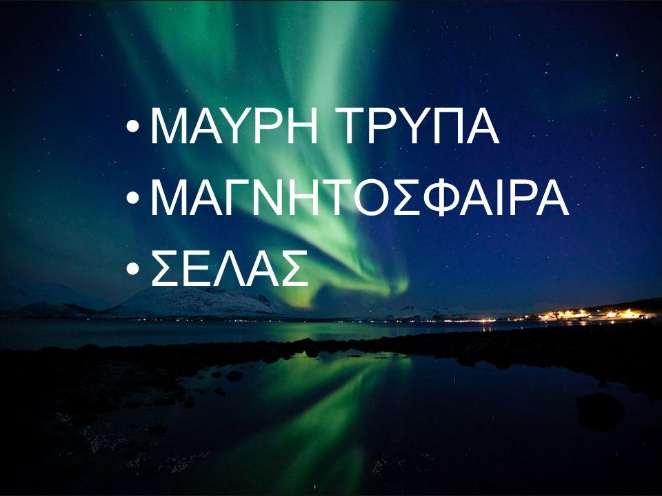 ΜΑΥΡΗ ΤΡΥΠΑ ΜΑΓΝΗΤΟΣΦΑΙΡΑ ΣΕΛΑΣ