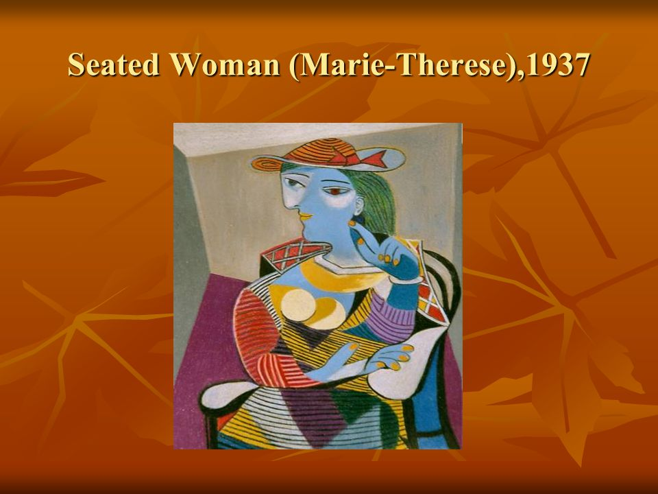 Seated Woman (Marie-Therese),1937