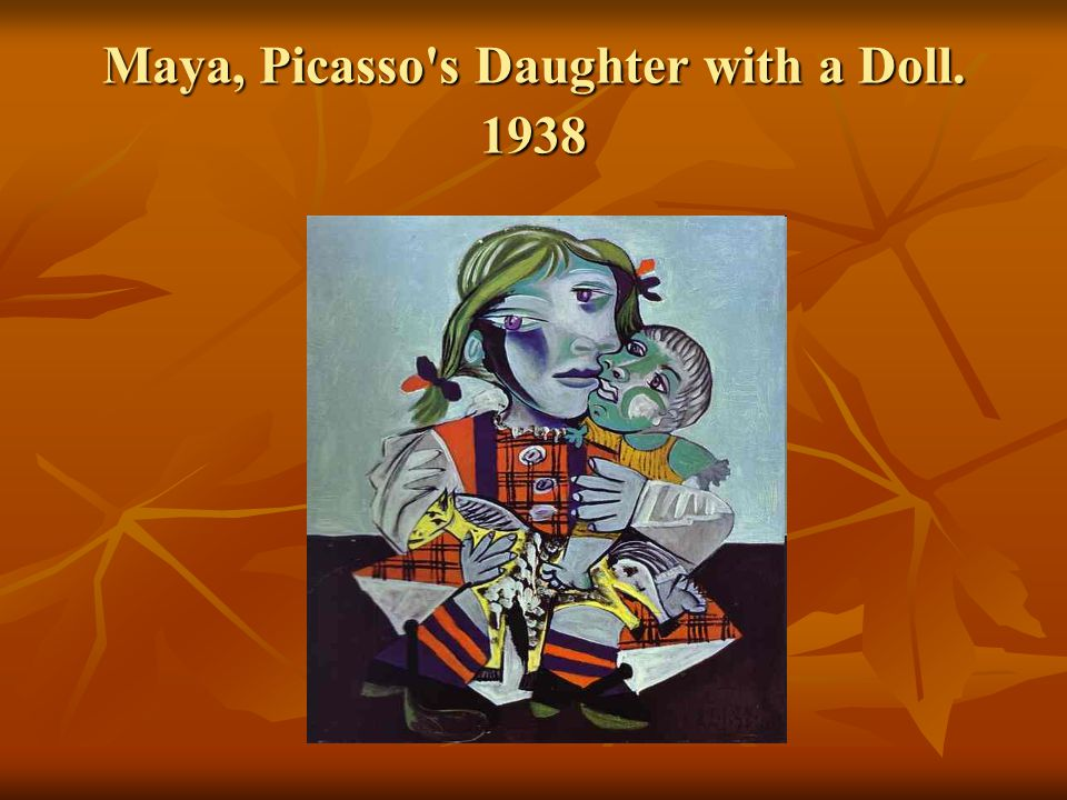 Maya, Picasso s Daughter with a Doll. 1938