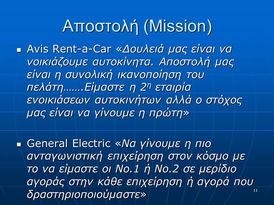 Αποστολή (Mission)