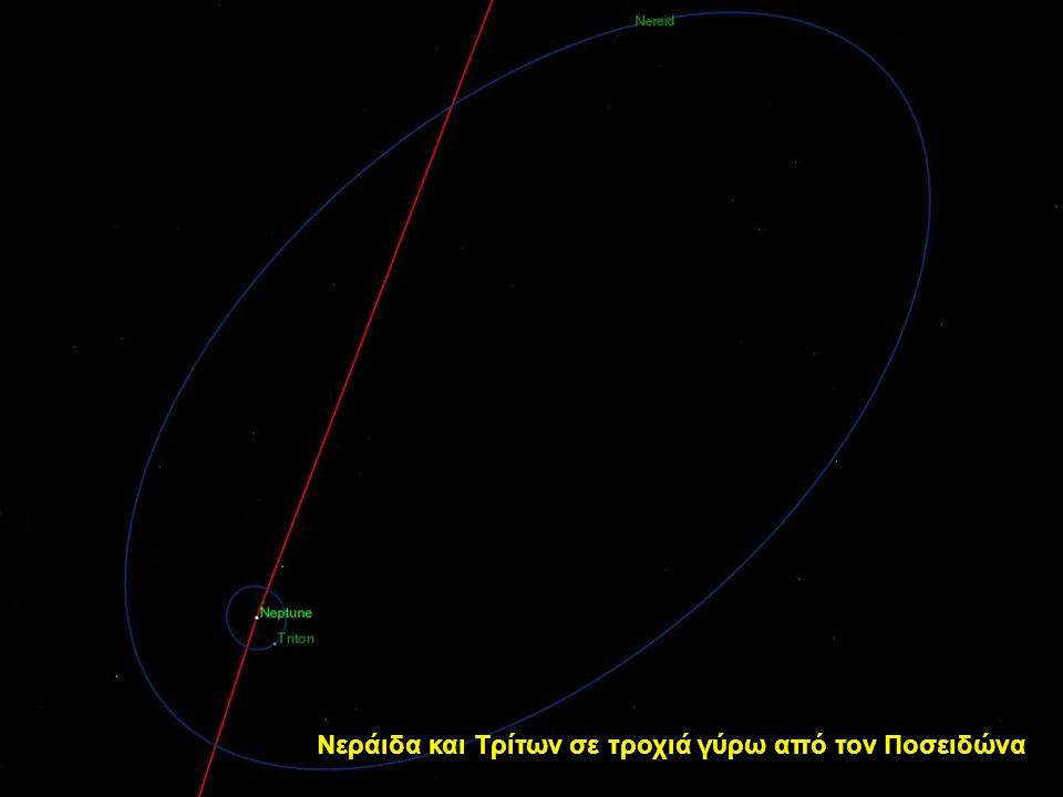 Νεράιδα και Τρίτων σε τροχιά γύρω από τον Ποσειδώνα