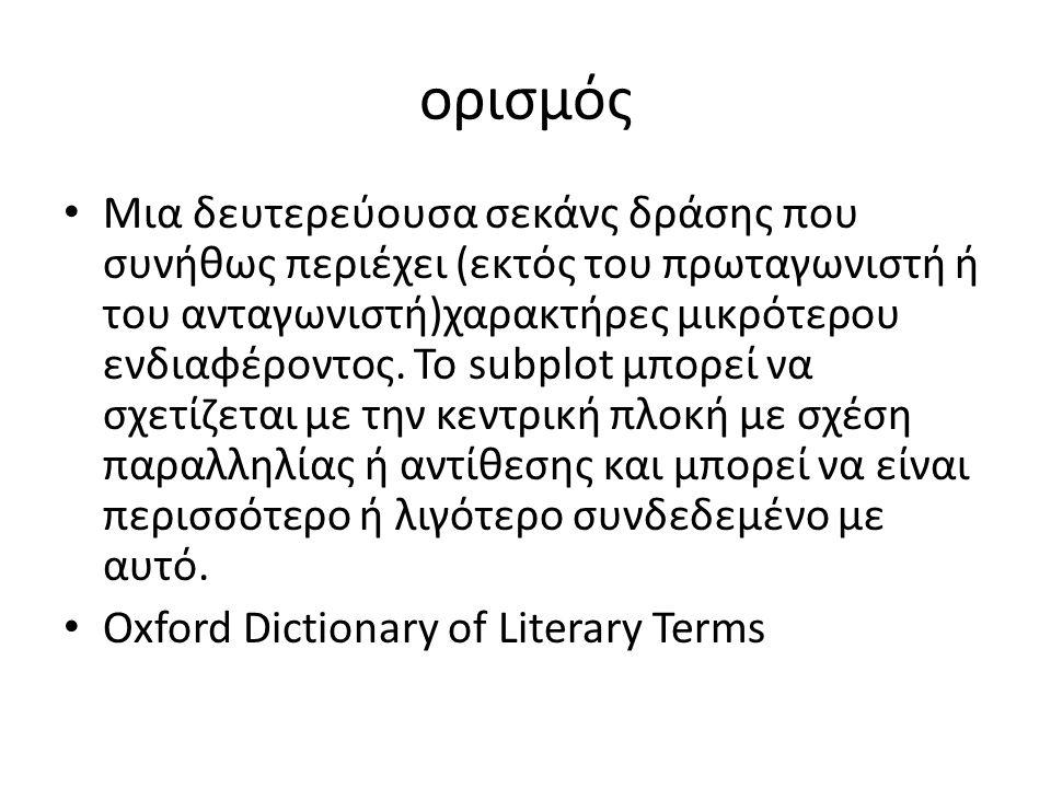 ορισμός