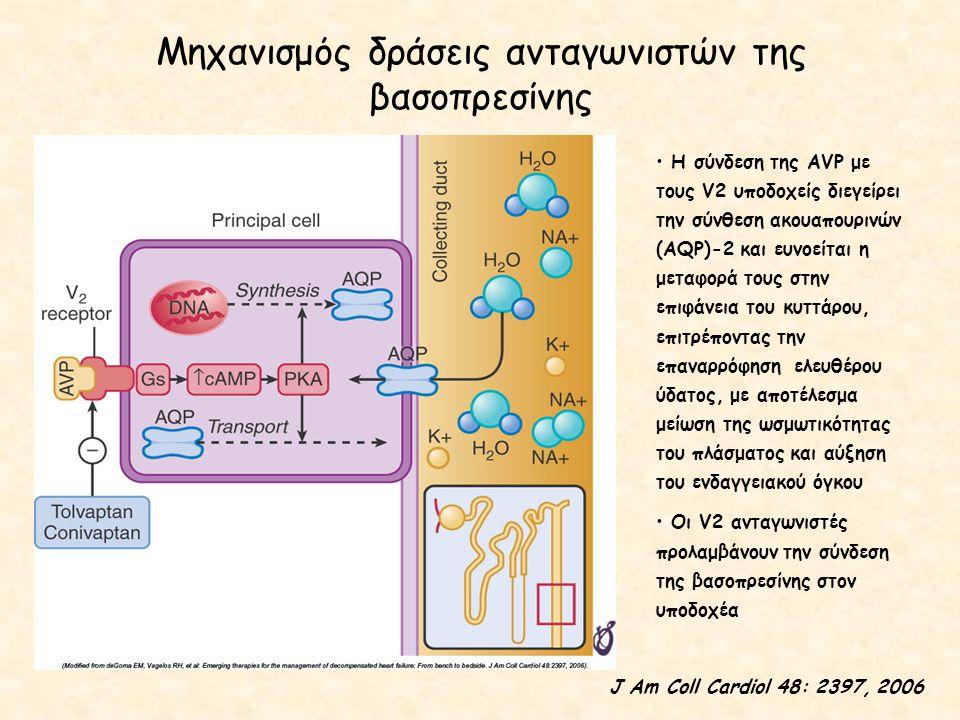 Μηχανισμός δράσεις ανταγωνιστών της βασοπρεσίνης