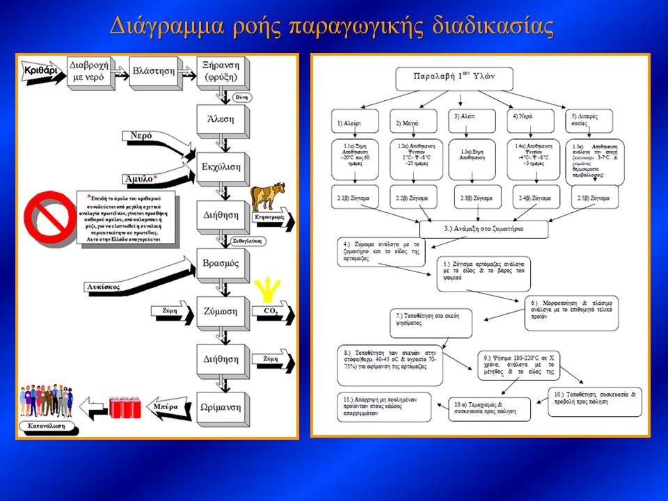 Διάγραμμα ροής παραγωγικής διαδικασίας