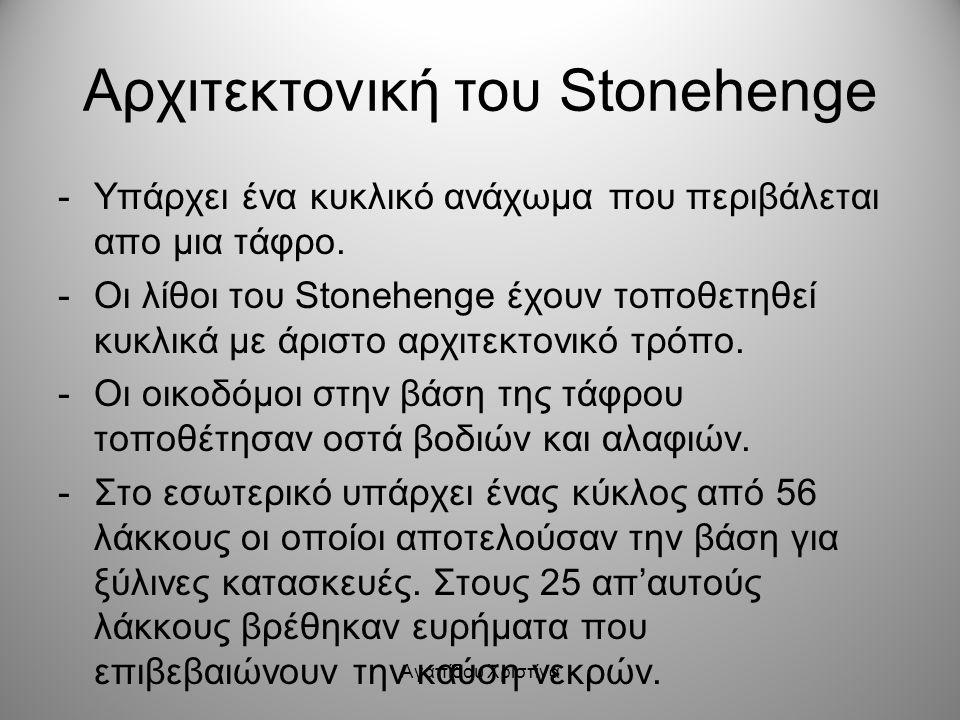 Αρχιτεκτονική του Stonehenge