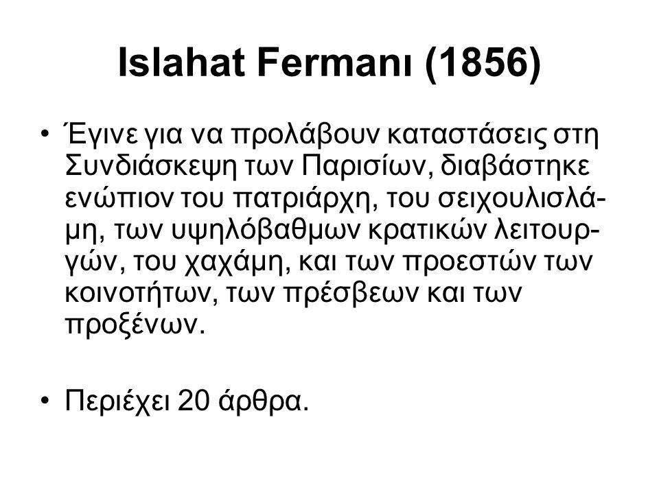 Islahat Fermanı (1856)